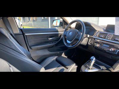 BMW SERIE 4 GRAN COUPE 420DA 190CH LUXURY EURO6D-T - Miniature 4