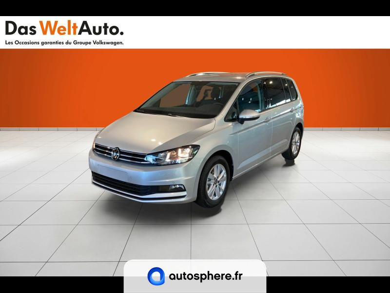 VOLKSWAGEN TOURAN 2.0 TDI 122CH LOUNGE BUSINESS 7 PLACES - Photo 1