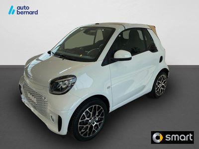 Smart Fortwo Cabriolet Electrique 82ch prime occasion