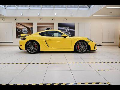 Porsche 718 CAYMAN GT4 occasion